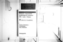 Altes Krankenhaus Northeim - Sturmbäume - kurz vor dem Abriß 2015