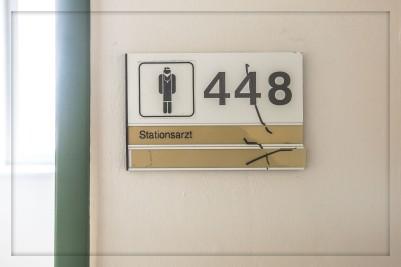 Altes Krankenhaus Northeim - Abriß 2015