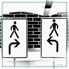 Rechts rum - oder links rum - CHANGE !