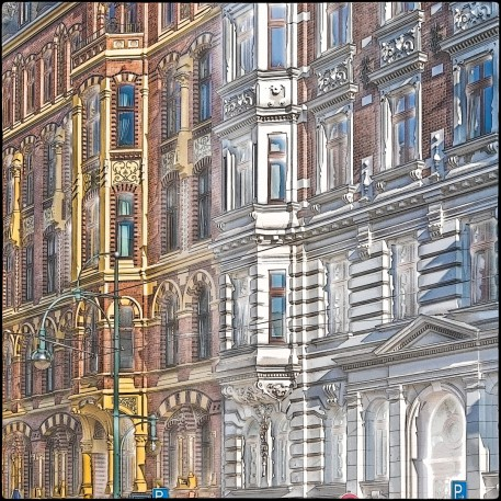 Magdeburger Fassade