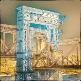 Brücke über die Elbe in Magdeburg
