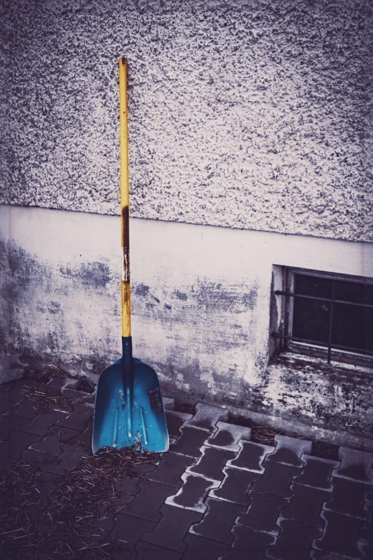 """""""Die blaue Schaufel"""" 2018"""