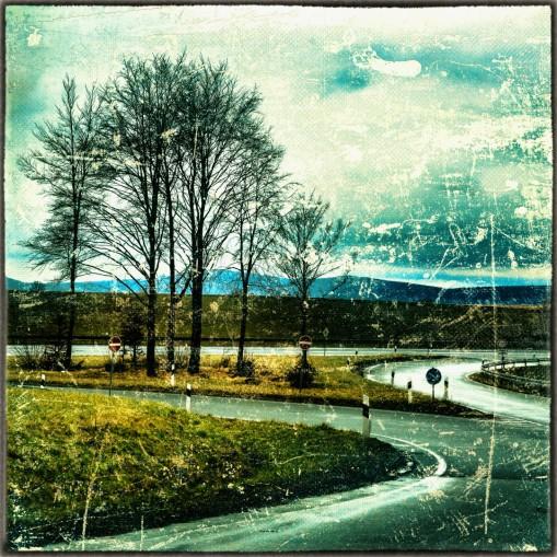 Auffahrt Schnellstr. nach Goslar aus Neuekrug kommend