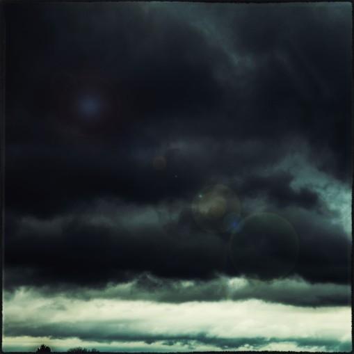 Schlechtes Wetter auf der Fahrt