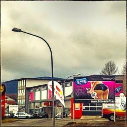Ehemals Autohaus Stavenow - jetzt auch Mukkibude