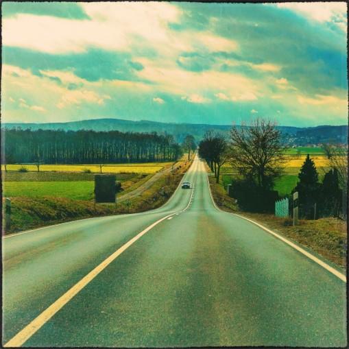 Straße von Wulften nach Katlenburg