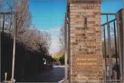Eingang Zentralfriedhof Friedrichsfelde
