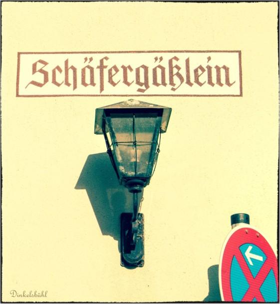 Dinkelsbühl - Schäfergäßlein
