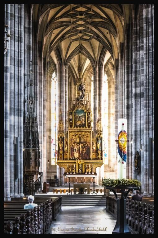 Dinkelsbühl - St.-Georgs-Kirche