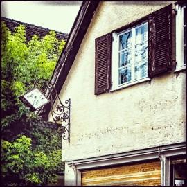 Verlassenes AGFA Geschäft in Wasserburg....