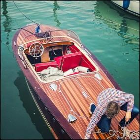 ein schönes Boot....