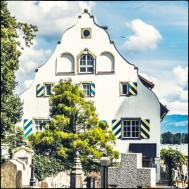 Giebel-Fassade in Wasserburg