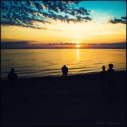 Sonnenuntergang im Hafen...