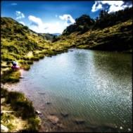 Ein kleiner verwunschener See...