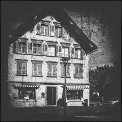 Ein Häuschen in Rheineck....