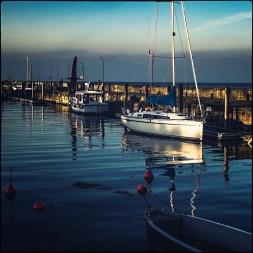 Kleiner Hafen in Langenargen