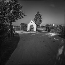 Kleine Kapelle auf dem Weg nach Friedrichshafen