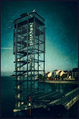 Friedrichshafen - Hafen - Aussichtsturm
