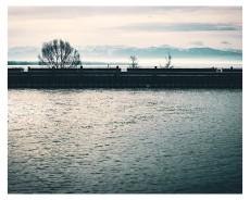 Blick aus dem Hafen von Friedrichsh.....