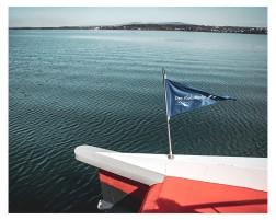 Katamaran........flitzt über den See