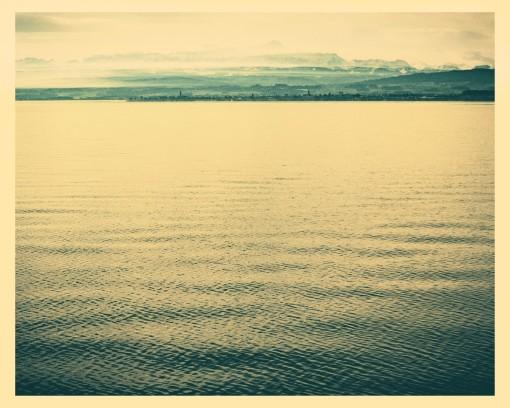 Übeerfahrt nach Konstanz mit Katamaran - Aussicht