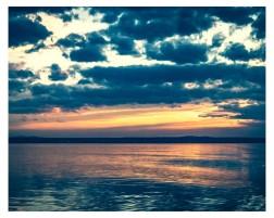 wunderschöner Sonnenuntergang....