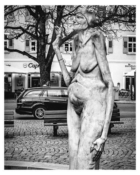 Figur Brunnen v. P.Lenk in Überlingen