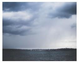 Der Regen ist da...