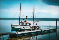 Boot auf der Ostsee....Insel Heel