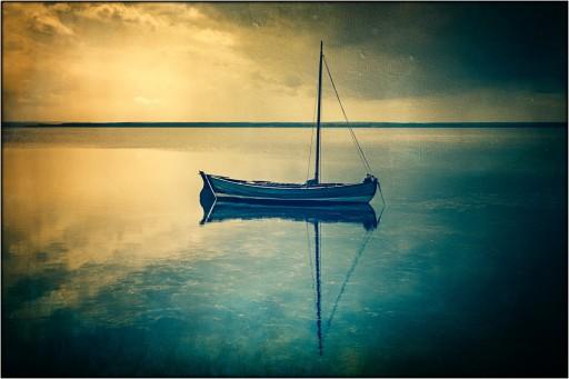 Boot auf der Ostsee....
