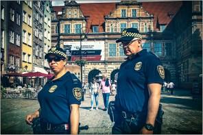 Die Polizei......und der Taschendieb