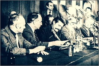 Foto aus dem Solidarnoc Museum in Danzig