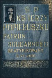 Jerzy Popiełuszko - Getöteter Priester