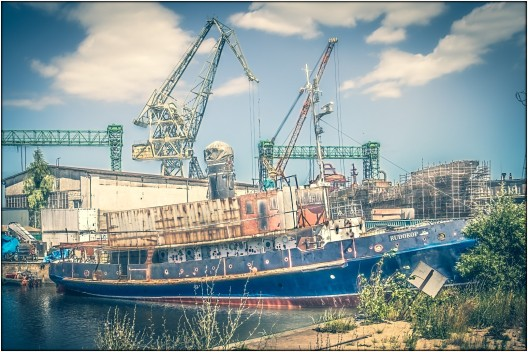 heutige Werft....