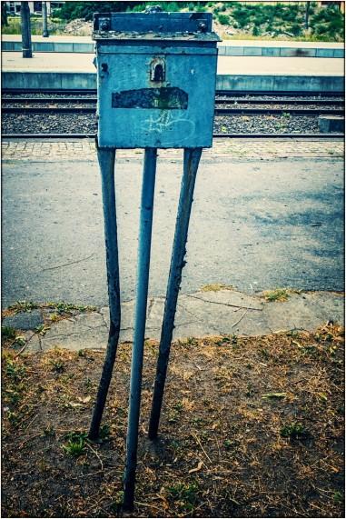 Kunst am Bahnhof :)