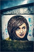 Grafitti in Marienburg