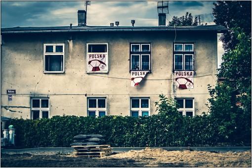 Haus an der Marienburg während der Fußball-WM