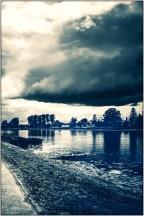 Die Nogat (Fluß an der Marienburg)
