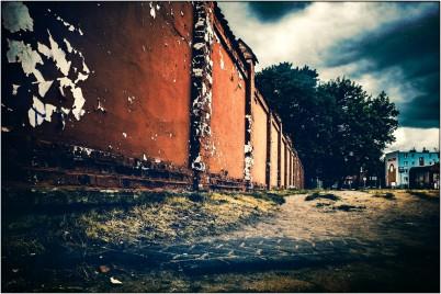 Alte Mauer in Marienburg