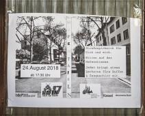 Straßenpicknick