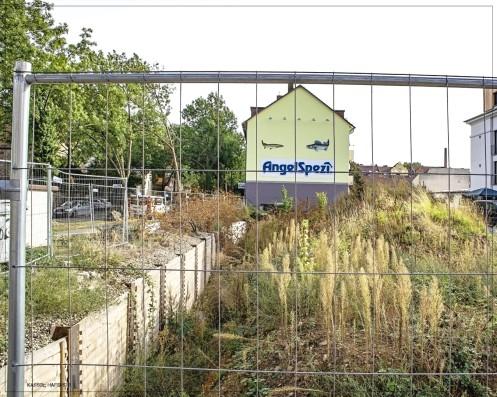 Kassel; Hafenstr. - Ecke Pulvermühlenweg