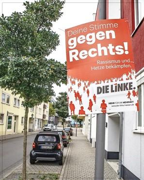 Kassel; Waisenhausstr. - GEGEN RECHTS