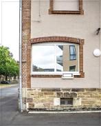 Kassel; ehemalige JVA III - Eingangsbereich (siehe das Fenster)