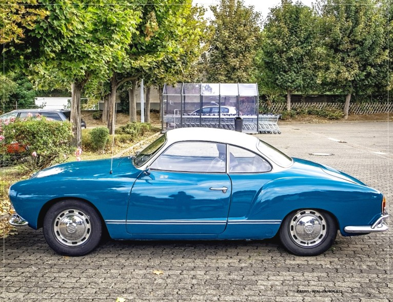 Karmann GHIA - Real-Parkplatz