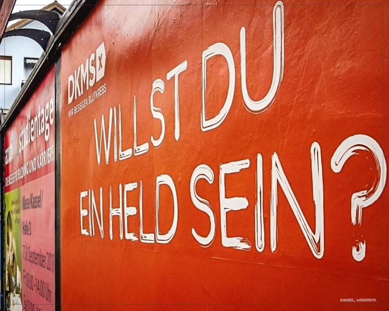 Reklame; Kassel - Weserstr.
