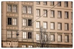 Schönes Hochhaus aus DDR-Zeit