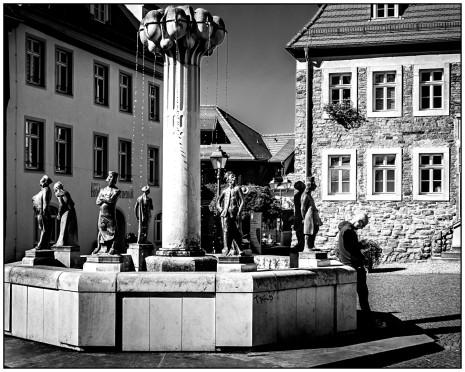 Der Knappenbrunnen