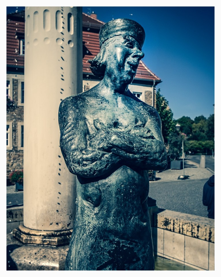 Figur des Knappenbrunnen