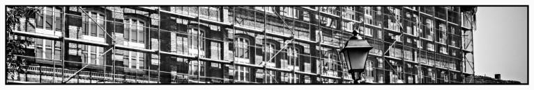 Fassade wird saniert