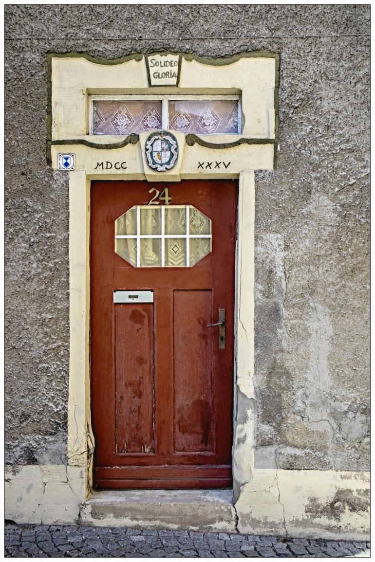 Diese Tür ist schön anzusehen